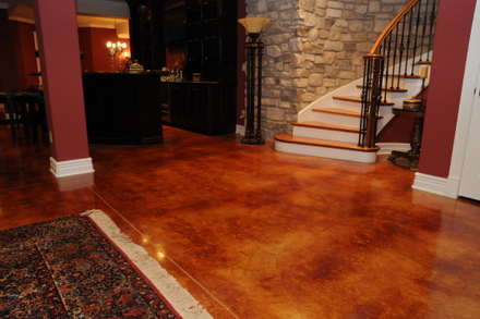 Stained Concrete San Jose Ca Acid Stain Concrete Floors