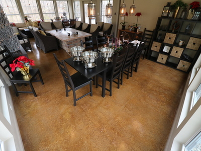 concrete floors san jose