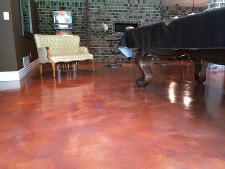 concrete staining san jose