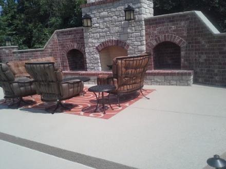 concrete patio san jose