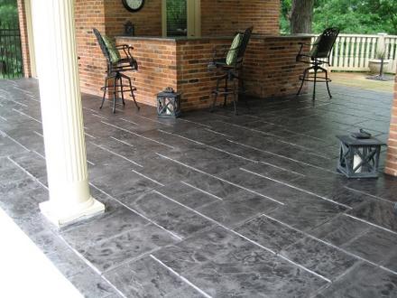 stamped concrete patio san jose
